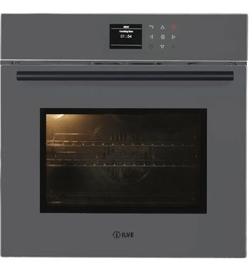 ILVE 60cm Grigio Lusso Electric Built-In Oven 600TCGV