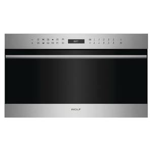 WOLF 76cm E Series Transitional Speed Oven/Microwave ICBSPO30TESTH