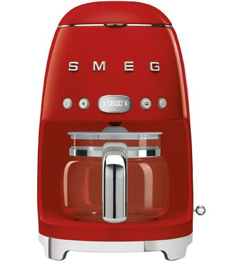 Smeg DCF02RDAU 50s Retro Style Drip Filter Coffee Machine