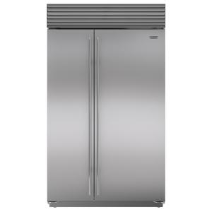 Sub-Zero 879L Integrated Side by Side Fridge with Internal Dispenser ICBBI48SIDSTH