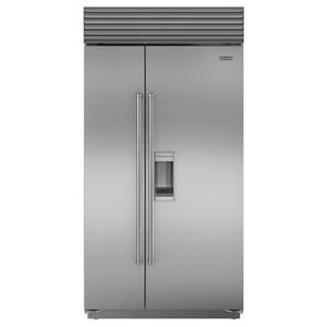 Sub-Zero 724L Integrated Side by Side Fridge with Dispenser ICBBI42SDSPH