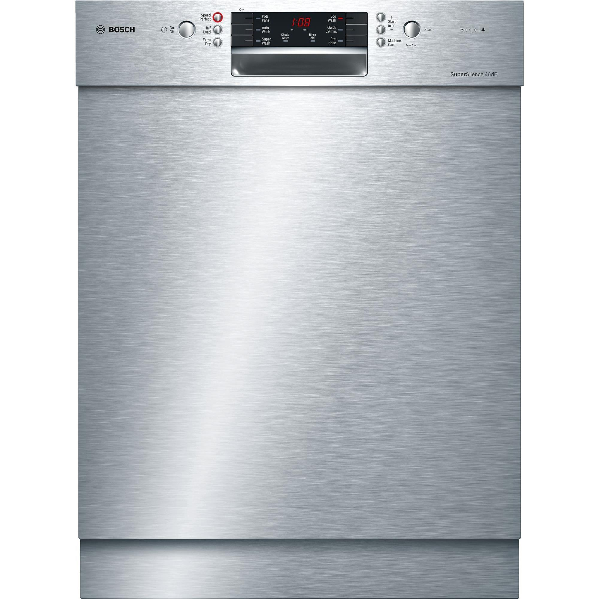 Bosch SMU46GS01A Built-in Dishwasher (Stainless Steel)
