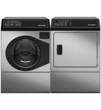 Speed Queen Washer and LP Gas Dryer AFNE9BAN01ADGE9BGASL