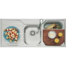 Oliveri 1 3/4 Bowl Sink and Tap Set