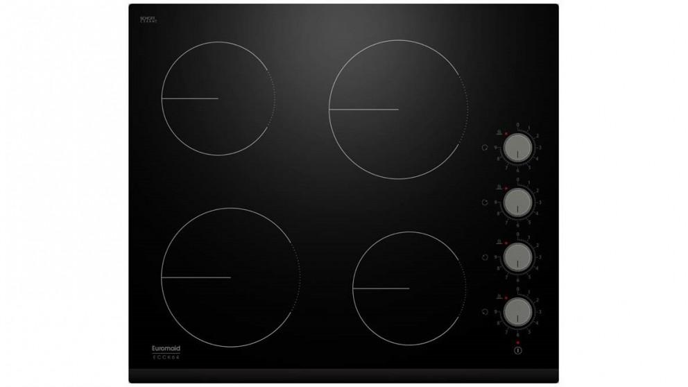 Euromaid Eclipses 600mm 4 Zone Ceremic Cooktop
