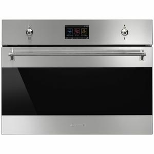 Smeg 45cm Classic Compact Speed Built-In Oven SFA4303MCX