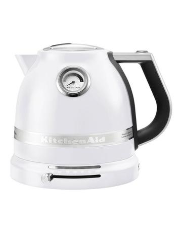 KitchenAid Pro Line 1.5lt Electric Kettle: Frosted Pearl