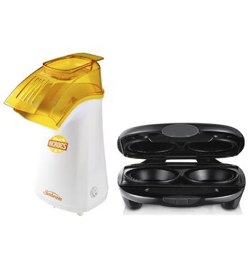Sunbeam Snack Heroes Popcorn Maker and Pie Magic® Pie Maker Pack CP4600PM4210