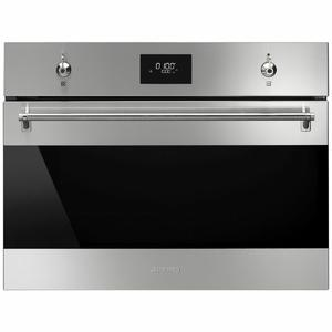 Smeg 45cm Classic Compact Speed Built-In Oven SFA4301MCX