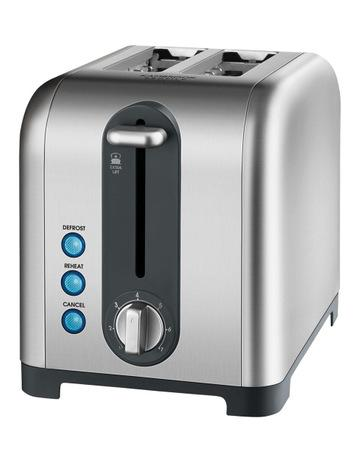 Kambrook KT260BSS Profile 2 Slice Toaster: Brushed Stainless Steel