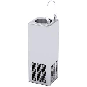 Zip SiteMaster Freestanding Chilled Water Dispenser with Bubbler and Carafe SM1501