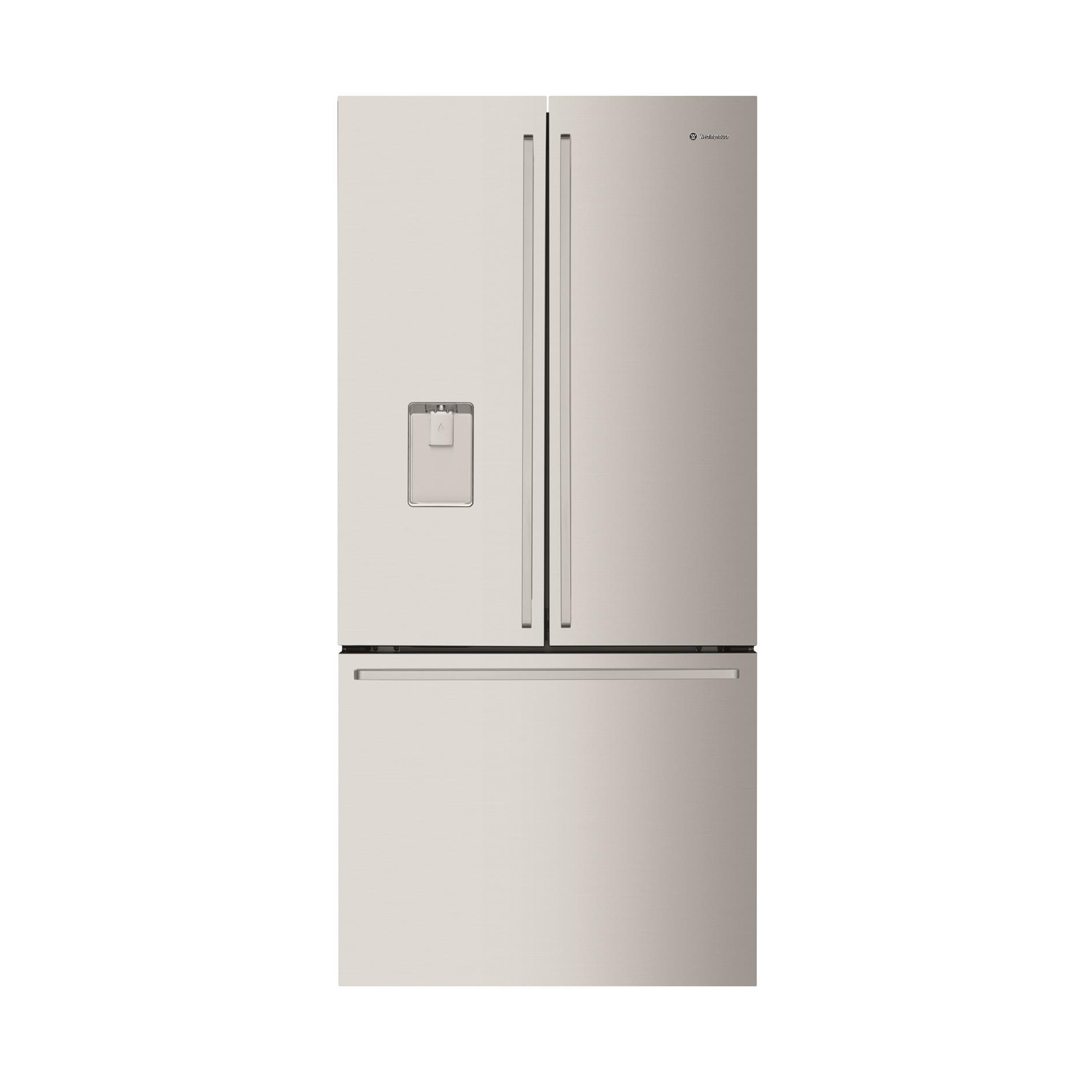 Westinghouse WHE5264SC 524L French Door Fridge with Ice & Water (S/Steel)