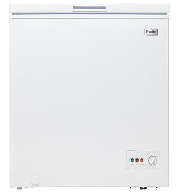 Esatto 146L Chest Freezer ECF146W
