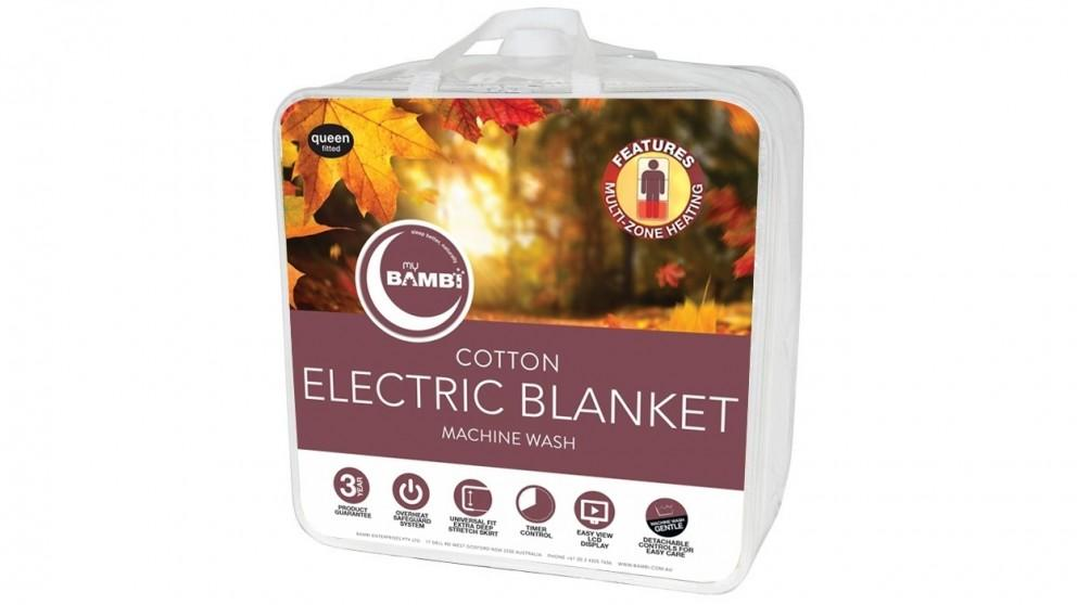 Bambi Cotton Electric Blanket – Single