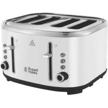 Russell Hobbs Legacy 4 Slice Toaster- White