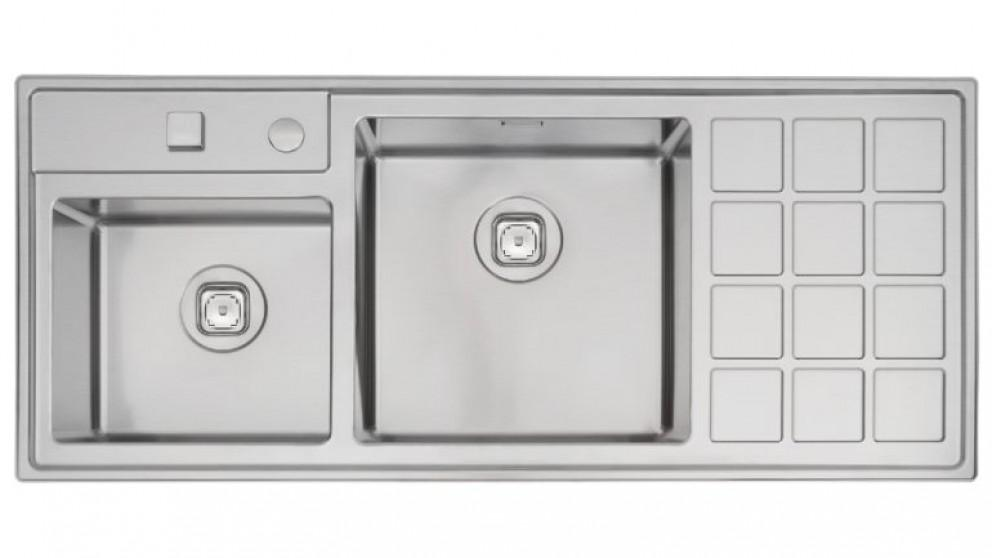 Linsol Tramontina 40 Plus Double Bowl Top Mount Sink