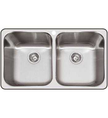 Abey Q200T NuQueen Double Bowl Sink Pack