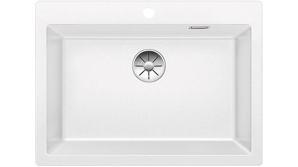 Blanco PLEON 8 Single Bowl Inset Sink – White