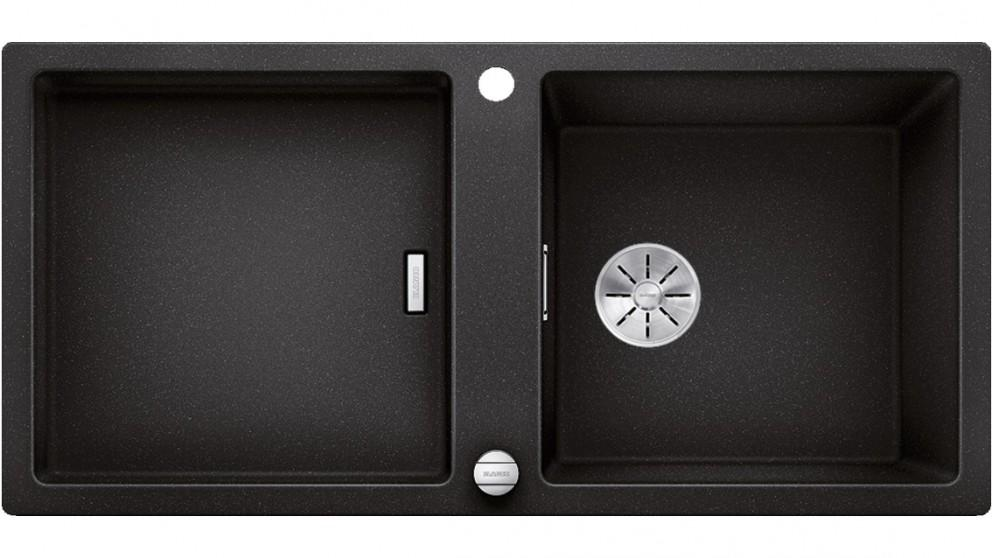 Blanco ADON XL 6 S Single Bowl Inset Sink with Drainer and Overflow – Anthracite