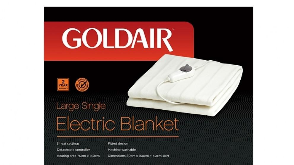 Goldair GFS-LS Large Single Fitted Electric Blanket