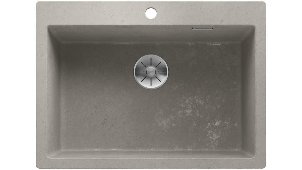 Blanco PLEON 8 Single Bowl Inset Sink – Concrete