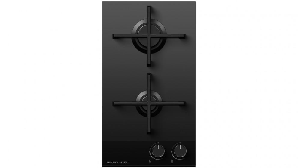 Fisher & Paykel 300mm 2 Burner LPG Gas on Glass Cooktop