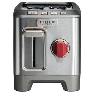 WOLF Gourmet High-Performance 2 Slice Toaster ICBWGTR102S