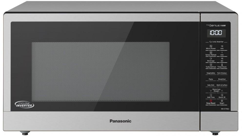 Panasonic 44L Cyclonic Inverter Genius Sensor Microwave Oven – Stainless Steel