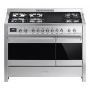Smeg – A3AU-81 – Classic Freestanding Cooker Stainless Steel 120cm