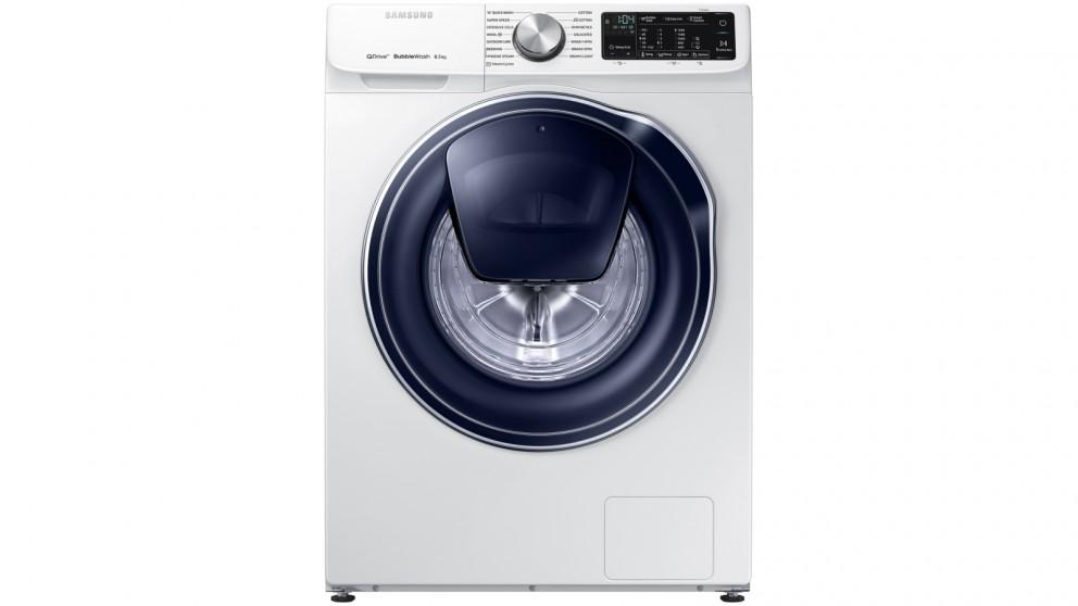 Samsung 8.5kg QuickDrive Crystal Door Front Load Washing Machine with Steam