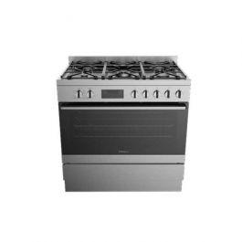Westinghouse Freestanding Dual Fuel Cooker Stainless Steel 90M
