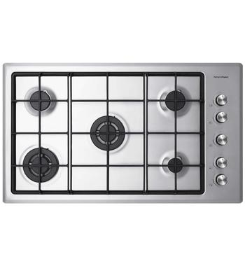 Fisher & Paykel CG905CNGX2 90cm Natural Gas Cooktop