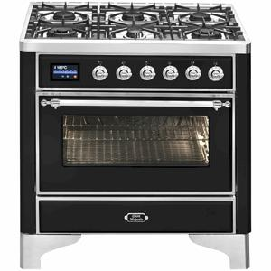 ILVE 90cm Limited Edition Majestic Series Freestanding Cooker M096DNE3WHP