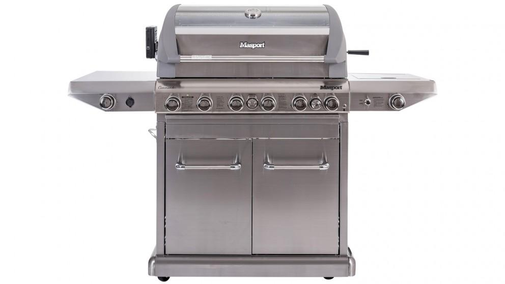 Masport Commander V2 6-Burner BBQ With 18-Piece Kit