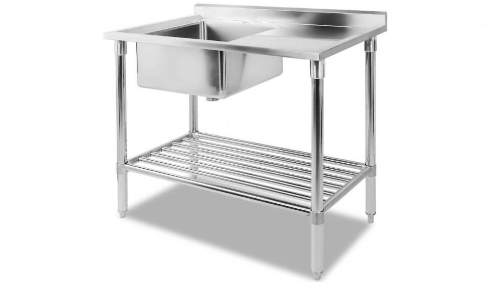 Cefito 100x60cm Stainless Steel Single Kitchen Sink Washing Bench