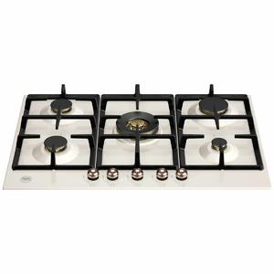 Bertazzoni 75cm Heritage Series Natural Gas Cooktop with Central Wok Burner P755CHERAC