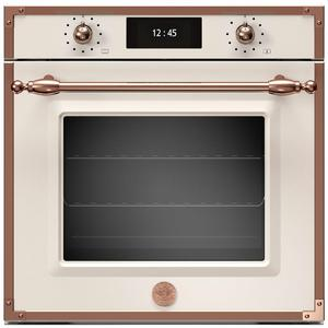 Bertazzoni 60cm Heritage Series Pyrolytic Built-In Oven with Total Steam F6011HERVPTAC