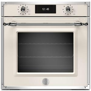 Bertazzoni 60cm Heritage Series Pyrolytic Built-In Oven with Total Steam F6011HERVPTAX