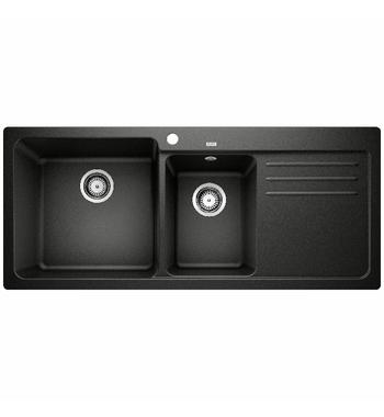 Blanco Naya 8S 1 and 3/4 Bowl Inset Sink with Right Hand Drainer NAYA8SBRK5
