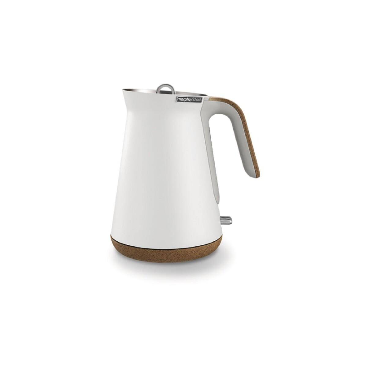 Morphy Richard's Cork Kettle 1.7 L – White