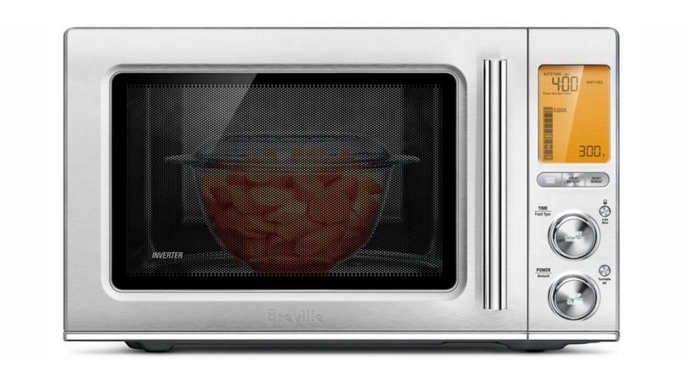 Breville the Smooth Wave Microwave Oven
