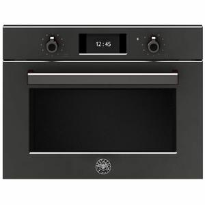 Bertazzoni 45cm Professional Series Combi-Microwave Compact Built-In Oven F457PROMWTN