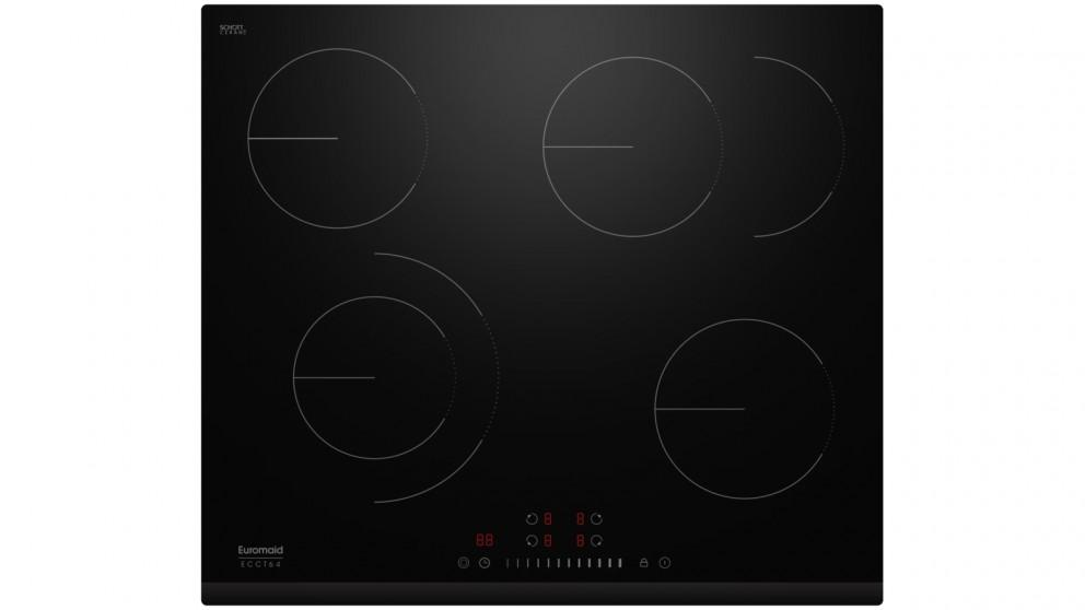 Euromaid Eclipse 600mm 4 Zone Ceramic Cooktop