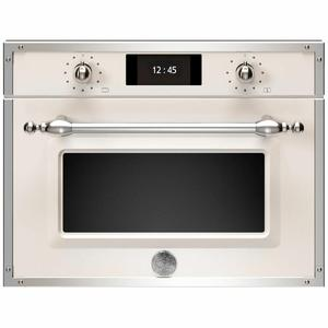 Bertazzoni 45cm Heritage Series Compact Combi-Microwave Built-In Oven F457HERMWTAX