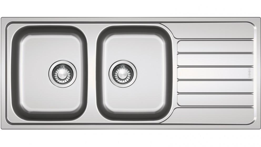 Franke Spark SKX 621 Double Bowl Sink with Right-Hand Drainer