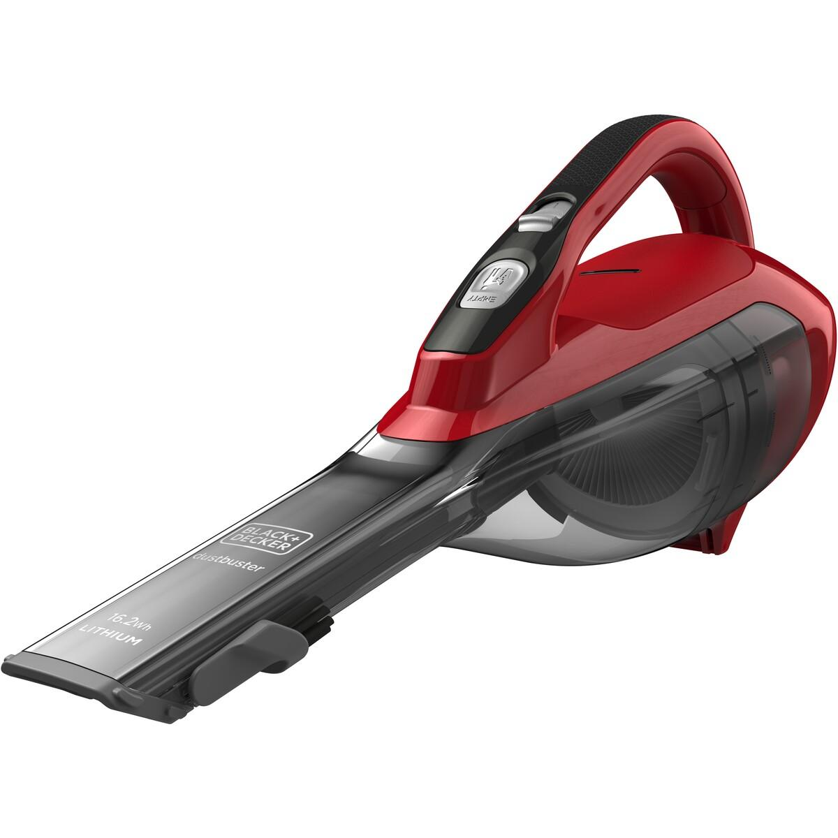 Black & Decker 10.8V Lithium-Ion Dustbuster – Red