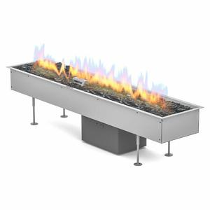 Planika Galio Linear Platinum Pit Fire Automatic Insert Only LINGALINSAUT