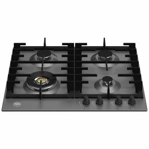 Bertazzoni 60cm Modern Series Natural Gas Cooktop P604LMODNE