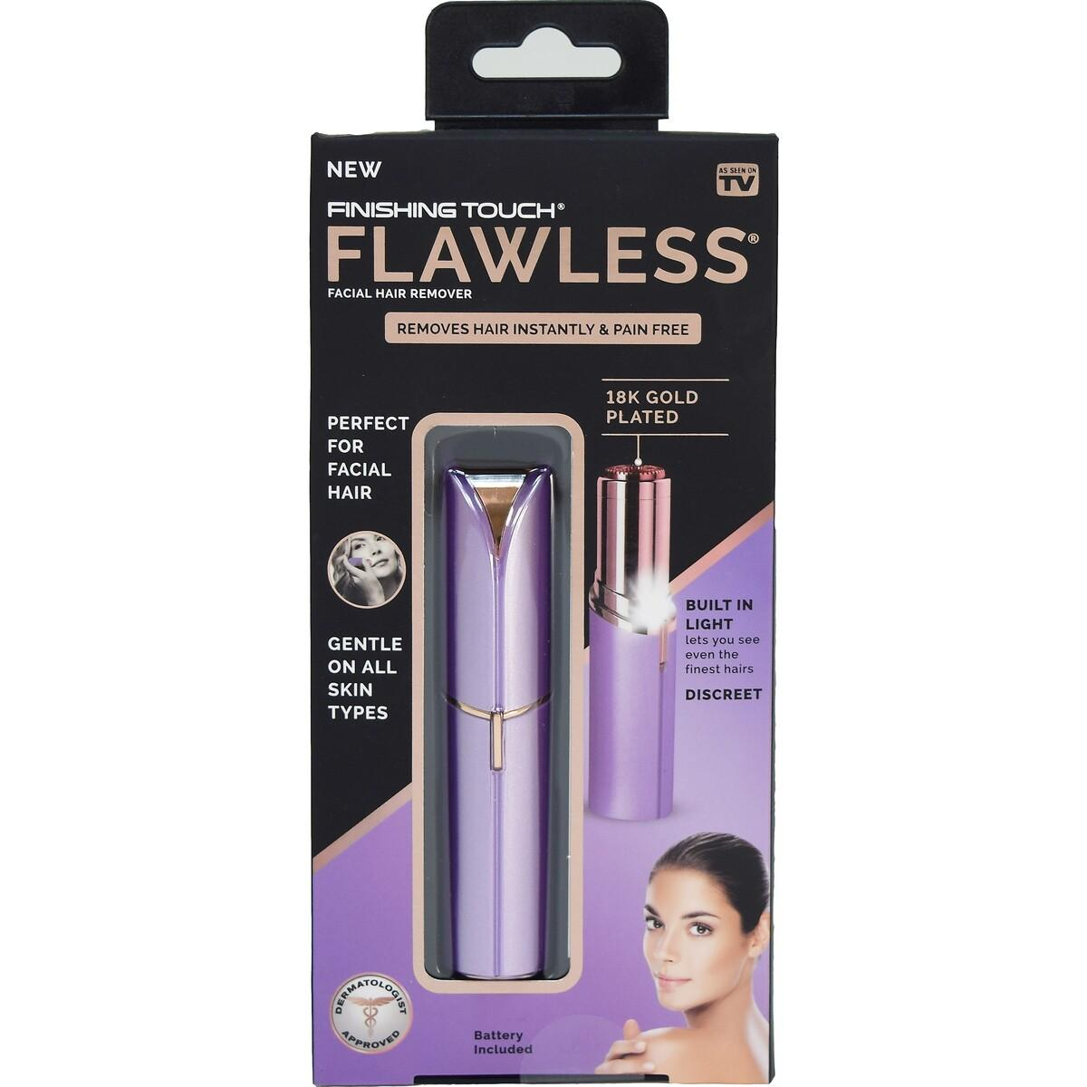 Finishing Touch Flawless Facial Hair Remover – Lavender