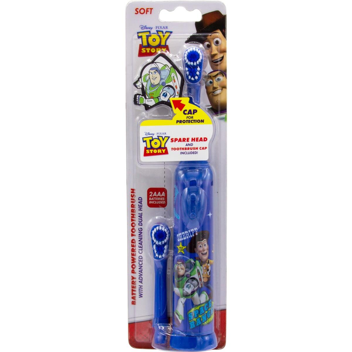 Disney Battery Toothbrush with Spare Head and Toothbrush Cap – Assorted*